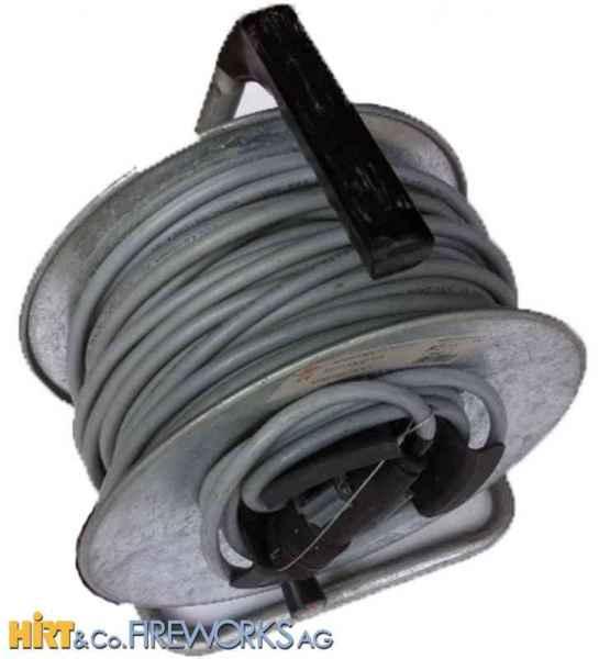 Multicore Kabelrolle für Zündmaschine