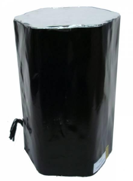 Luftschlangen-Batterie - Silber