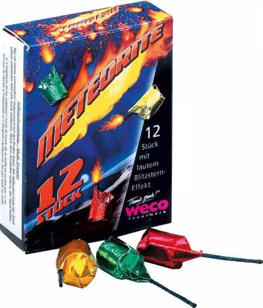 feuerwerk verkauf schweiz meteoriten