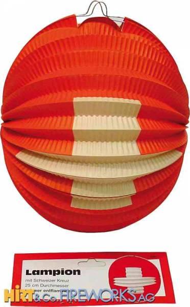 Ballonlampion CH-Kreuz