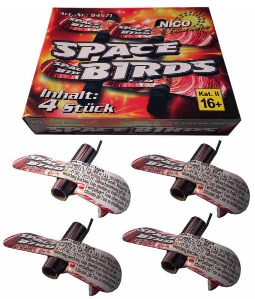 Space Birds - Feuervögel