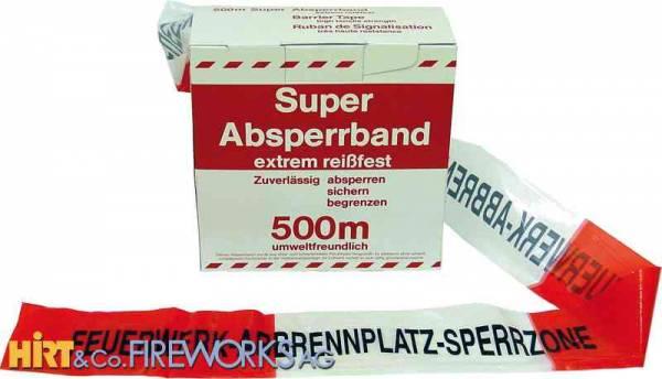 Feuerwerk-Absperrband