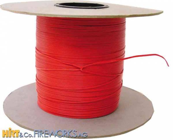 Elektrodraht orange - 1000m