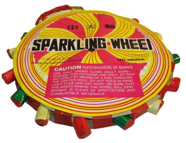 Sparkling Wheel Sonne