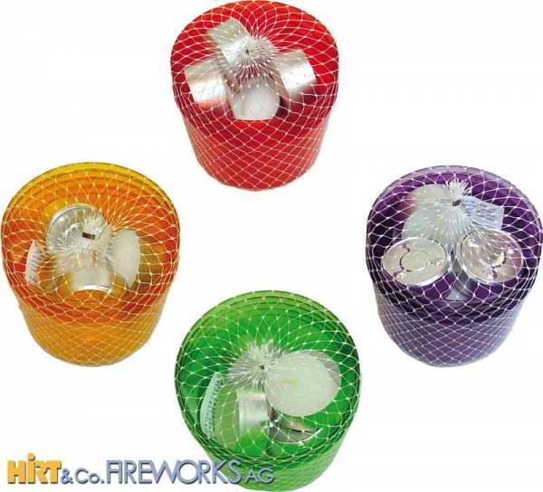 Leuchtbecher - Farbig
