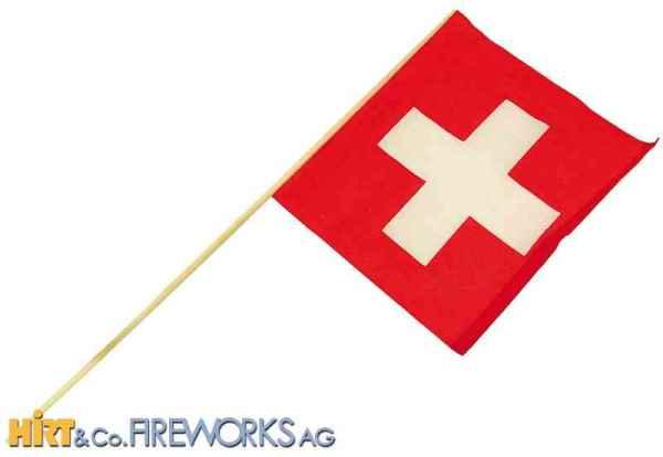 Stoff-Fahne Schweiz