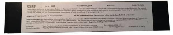 Theaterfeuer - Grün